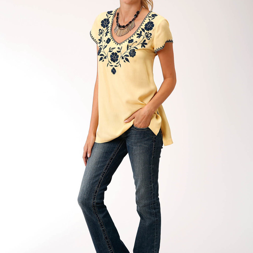 V Neck Tunic S/S Shirt