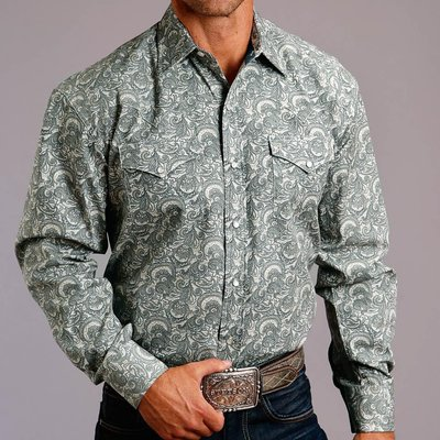 Tooling Paisley L/S Shirt