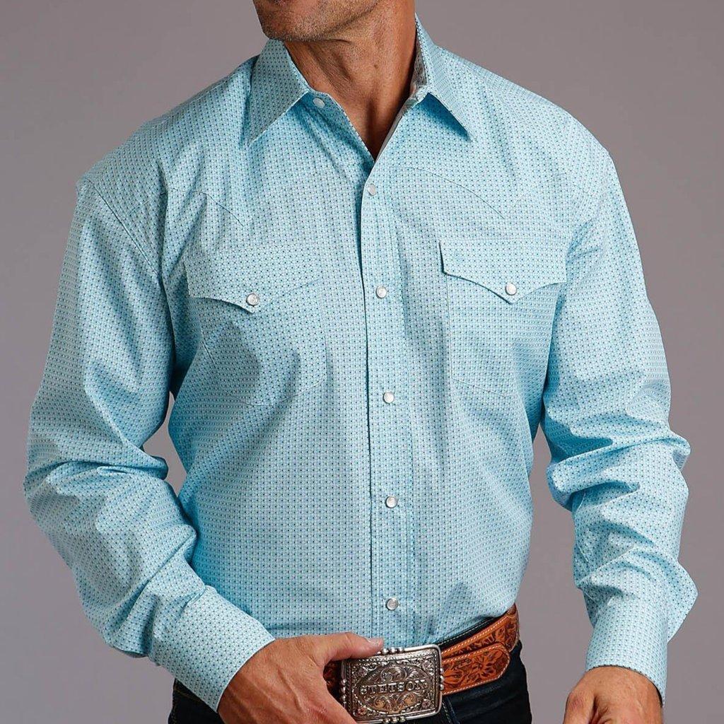 Geo Lattice L/S Shirt