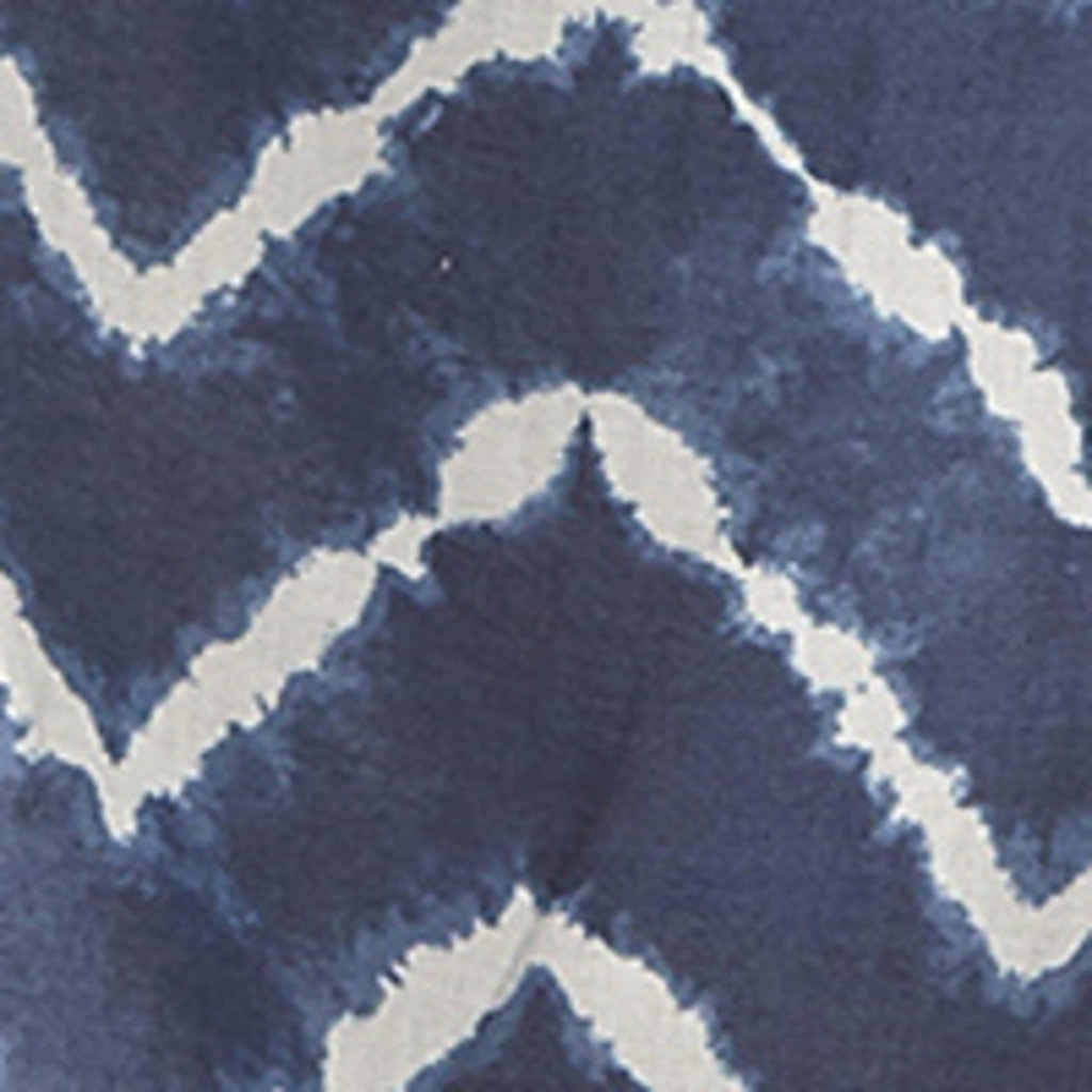 Wrangler | Navy S/S Chevron Tie Dye Top