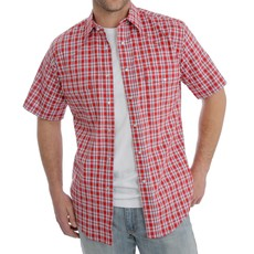 Wrangler | Wrinkle Resist Plaid Shirt