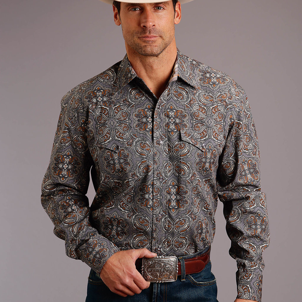 Antique Paisley L/S Shirt