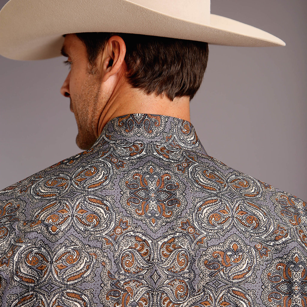 Stetson | Antique Paisley Snap Shirt