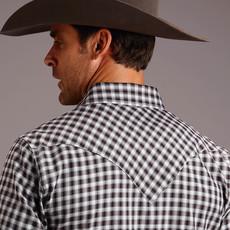 Stetson | Ombré Check Twill L/S Shirt