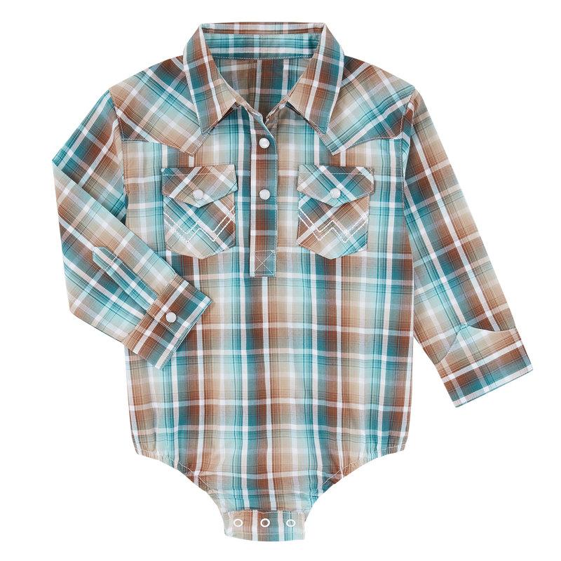 Wrangler | Infant Western Bodysuit