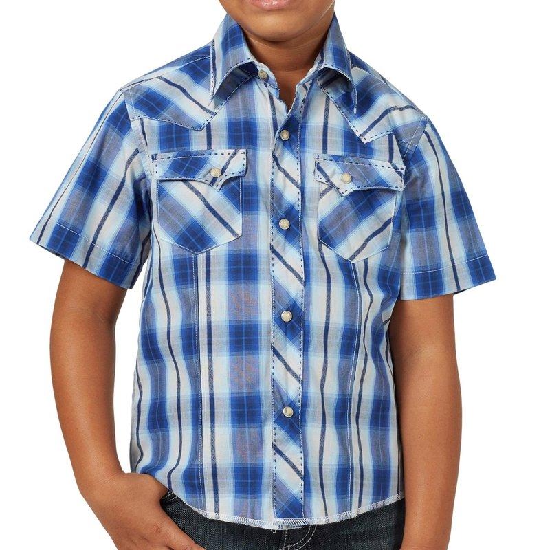 Wrangler | Short Sleeve Snap Shirt