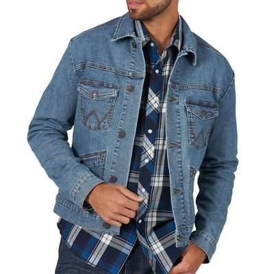 Retro Unlined Jean Jacket
