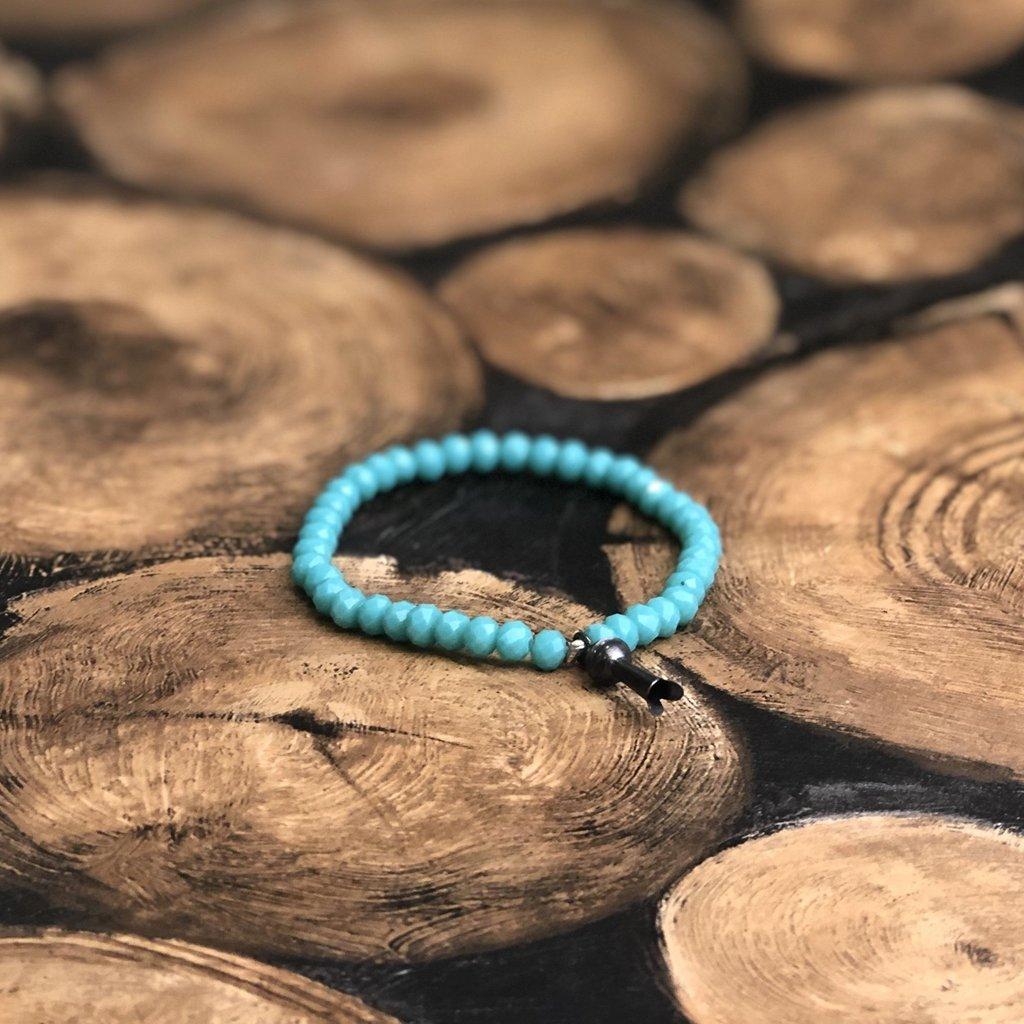 Turquoise   Squash Blossom Bracelet
