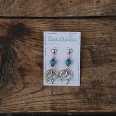 Naja Turquoise Earrings