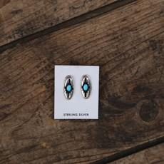 Sterling | Turquoise Earrings
