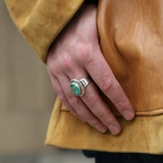 Turquoise Ring by Native Images