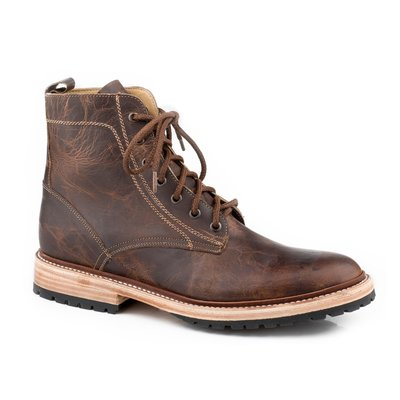 All Over Oiled Brown Leather