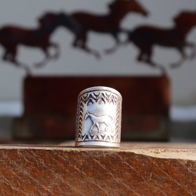 Sterling | Horse Ring | Size 6, 7, 8, 9, 10