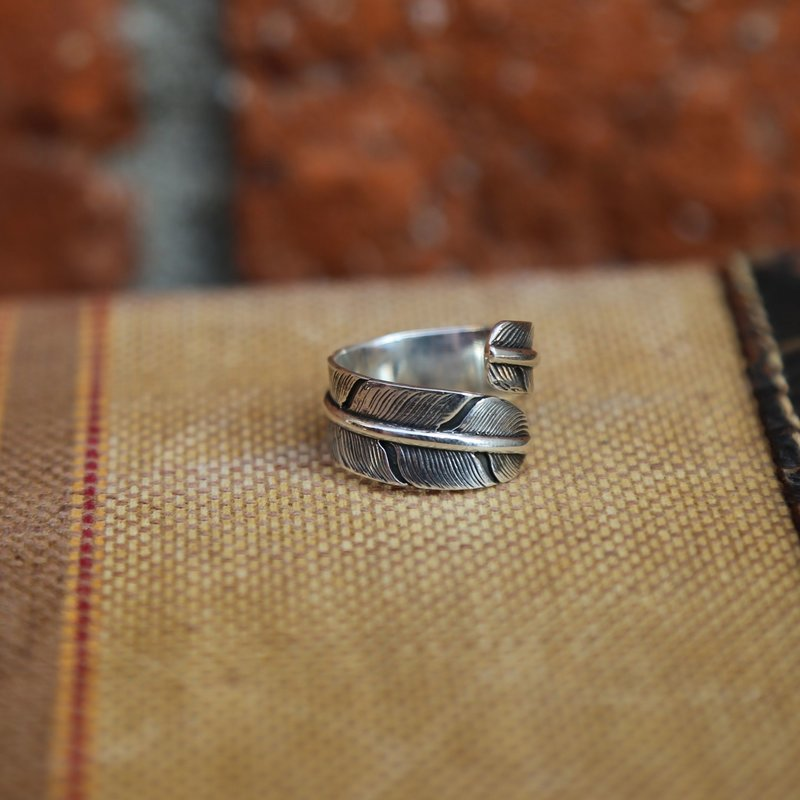 Sterling | Feather Wrap Ring | Size 6,7,8,9