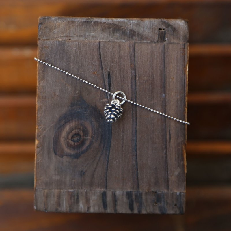 Sterling | Pine Cone Necklace