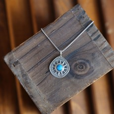 Sterling | Turquoise Necklace