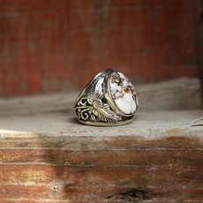 Sterling | Wild Horse Ring | Size 10.5