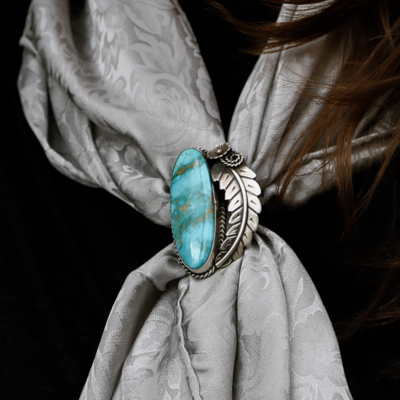 Kingman Turquoise Ring | Size 8