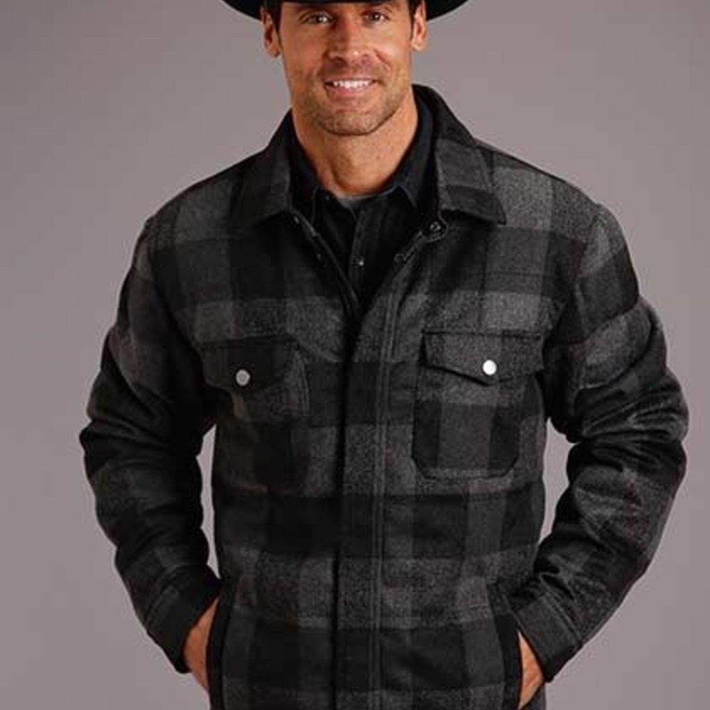 Buffalo Plaid Shirt-Jacket