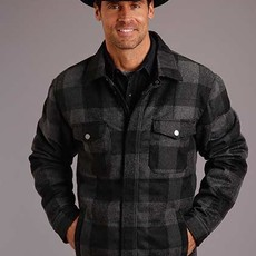 Stetson | Buffalo Plaid Shirt-Jacket