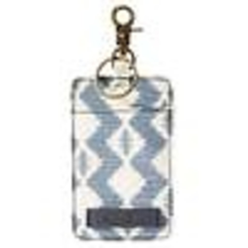Pendleton Canopy Canvas Luggage Tag, Zigzag River