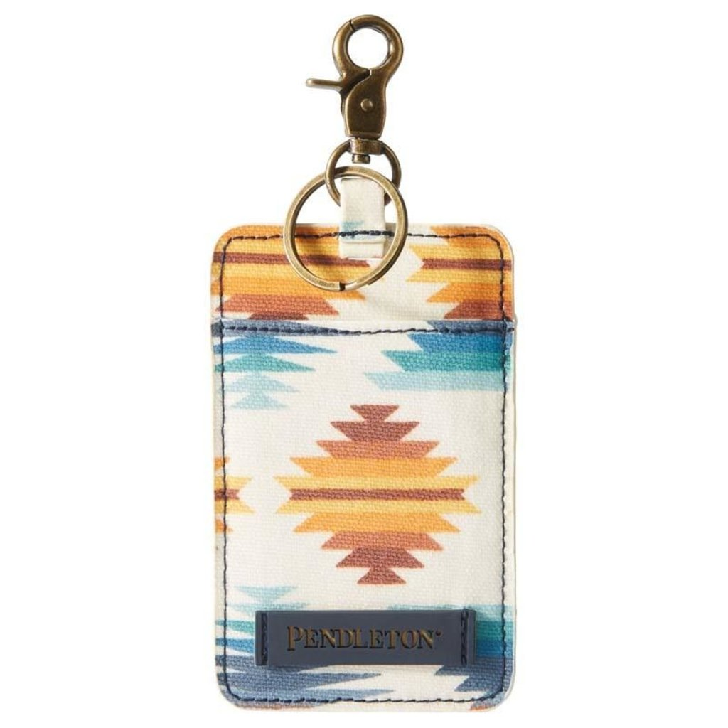 Pendleton Canopy Canvas Luggage Tag, Falcon Cove Sunset