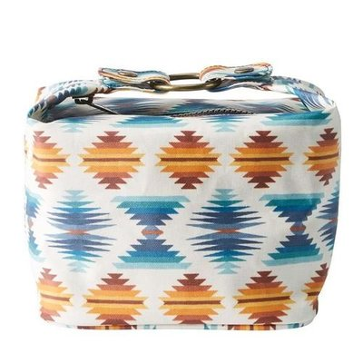 Pendleton Canopy Canvas Sq Cosmetic Case Falcon Cove Sunset