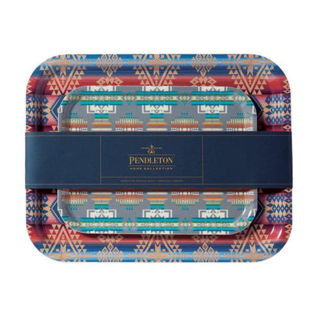 Pendleton Jacquard Birch Trays