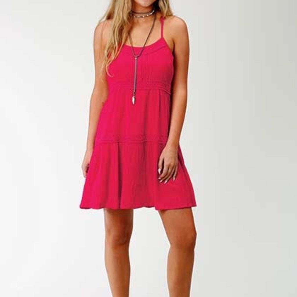 Roper | Crepe Spaghetti Strap Dress