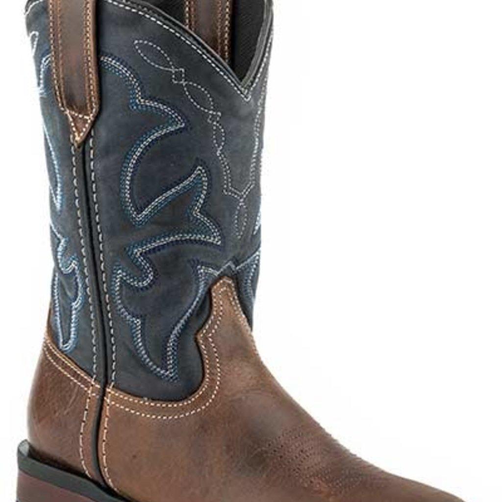 Navy Shaft Boots