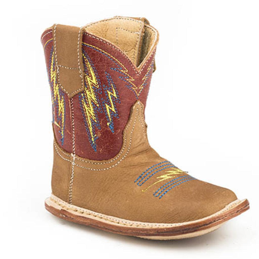 Roper | Red Infant Boots