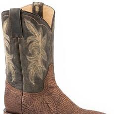Stetson | Distressed Brown Bullshoulder Boot