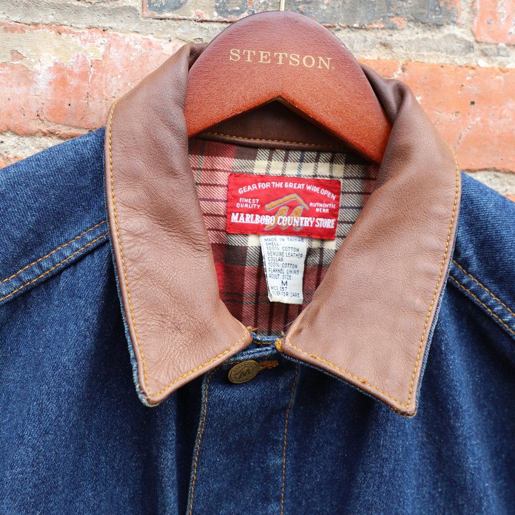 Vintage Marlboro  Denim Jacket