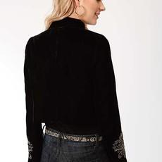 Roper | Velvet Cropped Jacket