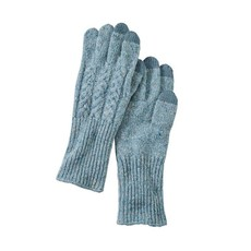 Pendleton Pendleton | Wool Blue Cable Gloves