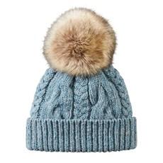 Pendleton Blue Cable Hat