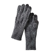 Pendleton Cable Gloves Black