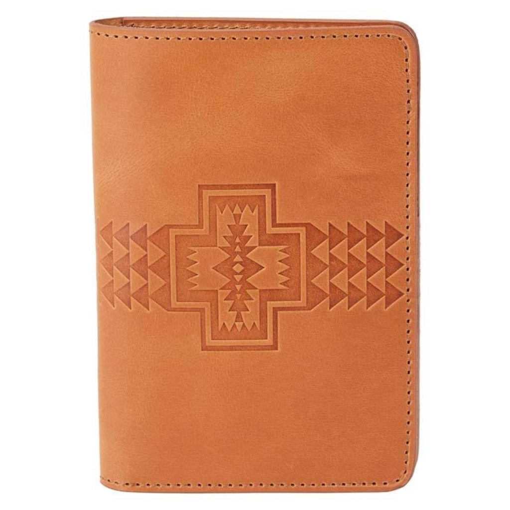 Pendleton Passport Holder Tan