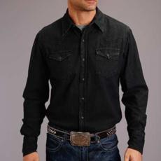 Black Denim Shirt