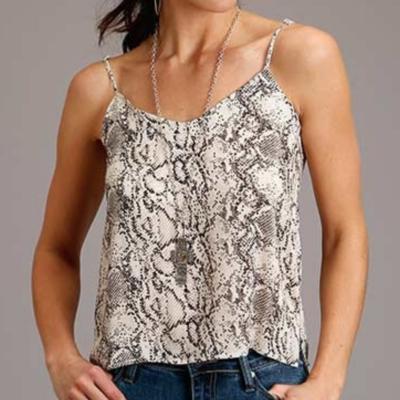 Herringbone Twill Sleeveless Shirt