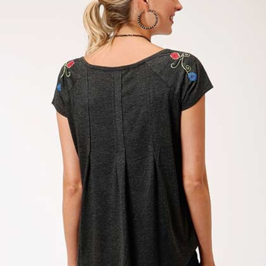 Roper | Poly Cotton Jersey Tee