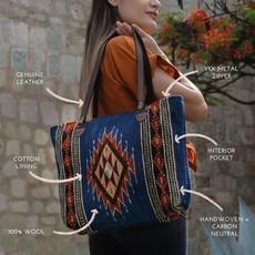 Manos Zapotecas | Tribal Diamond Tote