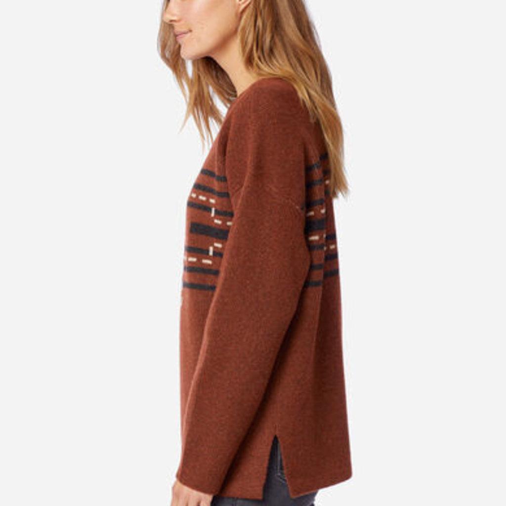 Pendleton Drop Shoulder Pullover Sweater