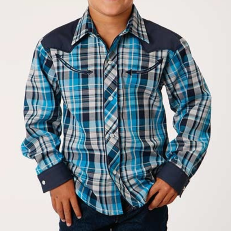 Stetson   Kid's Retro Western Shirt