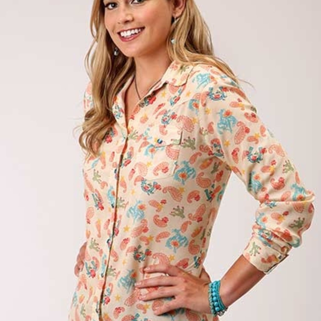 Roper | Cowgirls Print Shirt