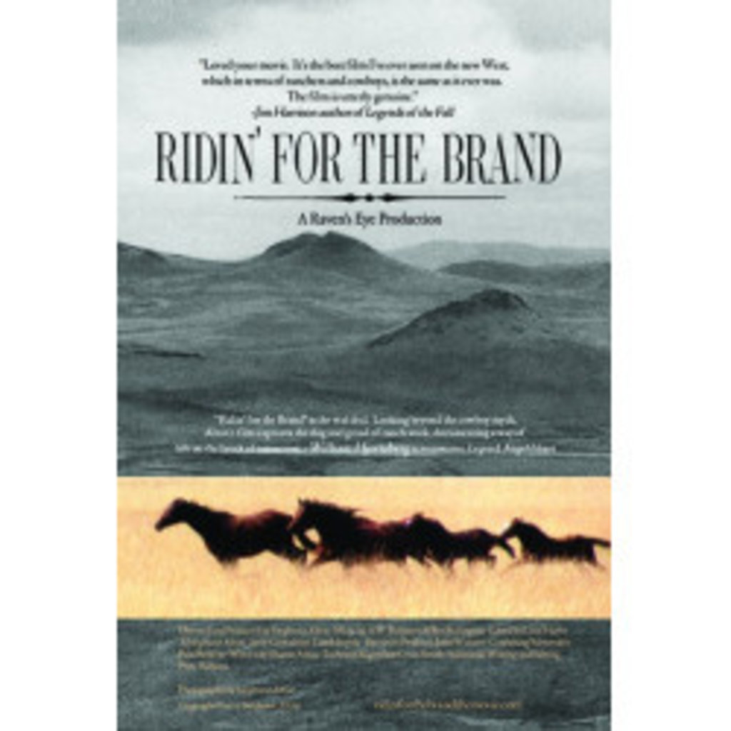 Raven's Eye Productions | Ridin' for the Brand DVD
