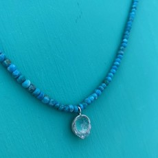 Cynthia Out West | Blue Moon Turquoise Necklace