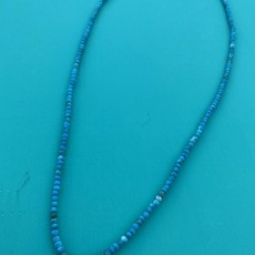 """Blue Moon Faceted Turq Necklace 26"""""""