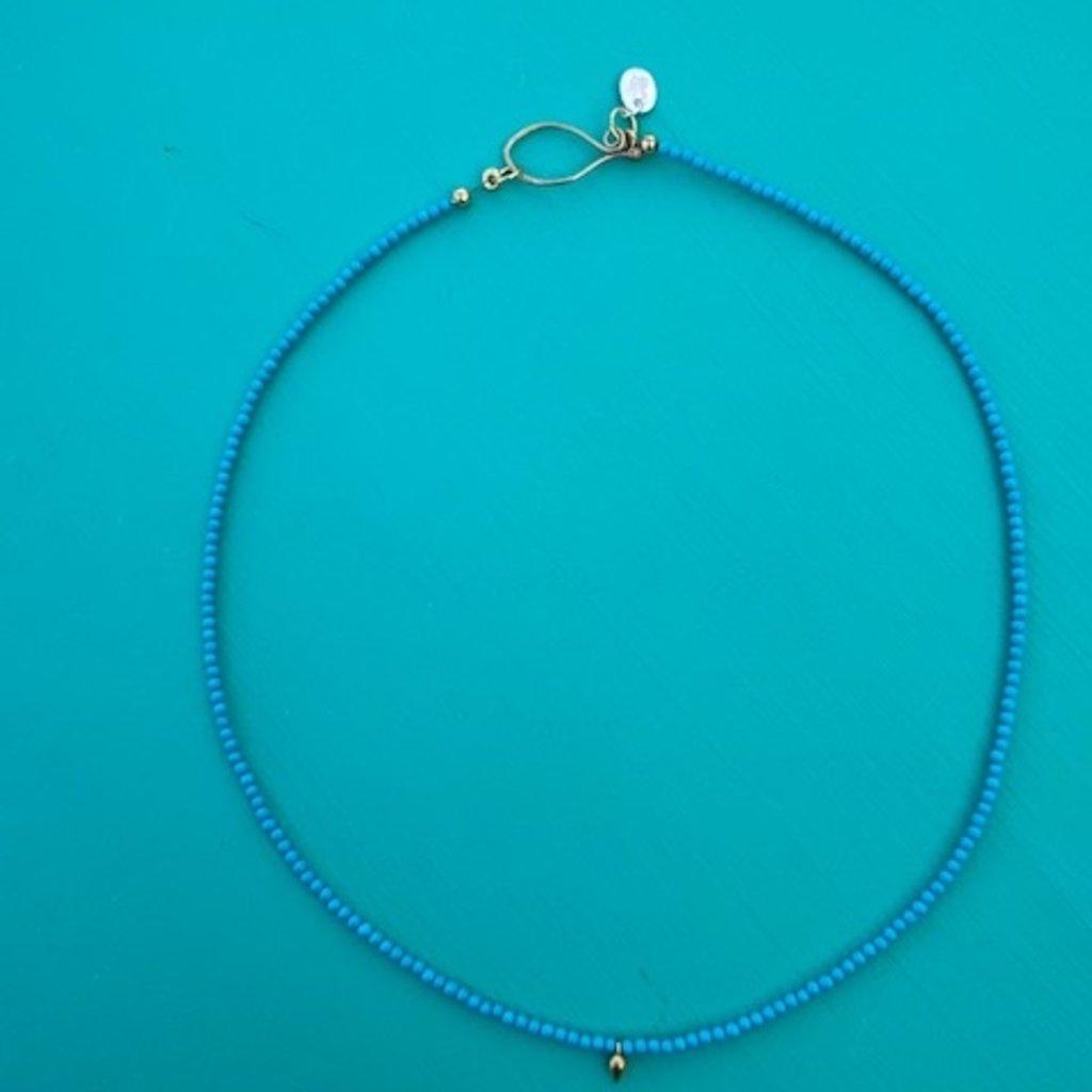 "Riverside Geyser Necklace 16"""
