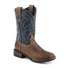 Roper | Navy Shaft Boots